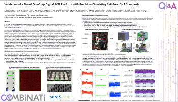 Validation of a Novel One-Step Digital PCR Platform with Precision Circulating Cell-Free DNA Standards