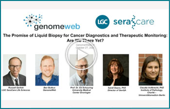 The Promise of Liquid Biopsy Application to Cancer Disease Diagnostics and Therapeutic Monitoring – Are we there yet?""